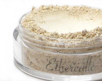 """Matte Highlight Powder - """"Stark"""" (matte light cream, Net Wt 4.5g) - Vegan Natural Mineral Makeup"""