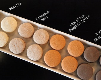 French Macaron, Warmth Fall collection, Spiced Cookies - 3 dozens