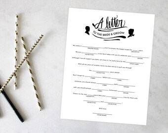 PRINTABLE Bridal Shower Games | Perfect Pair