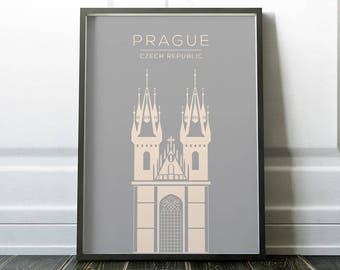 Prague Print, Wall Art, Travel Print, Prague Poster, Wall Art Print, Poster, Prague Travel Print, City Print, Prague Art, Travel Art, Prints