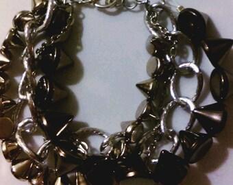4Strand Stud Bracelet