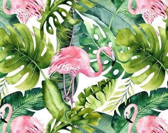 Fabric, fabric waterproof flamingos