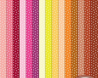 50%OFF Polka dot digital papers, polka dot pattern, irregular polka dot digital papers, scrapbook papers, commercial use paper P342