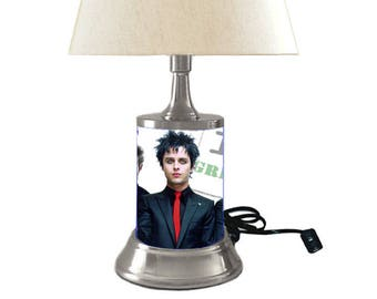 Green Day Lamp with shade