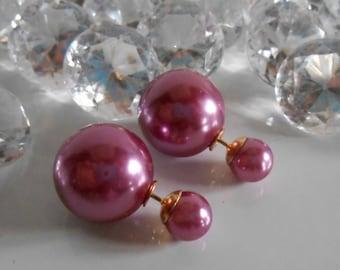 Earrings trend 2016 tribal purple