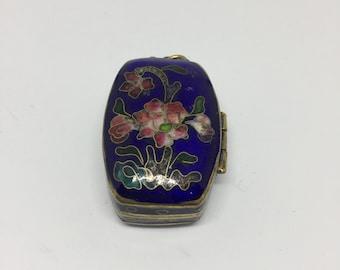 Vintage Chinese cloisonne locket