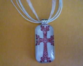 Armenian cross pendant