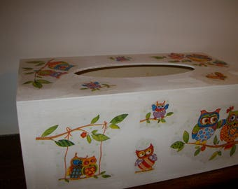 OWL! Here is a tissue box