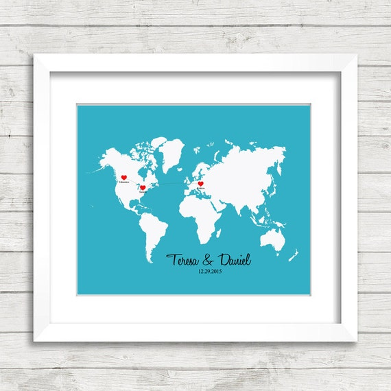 8x10 love world map edmonton alberta toronto ontario gumiabroncs Choice Image