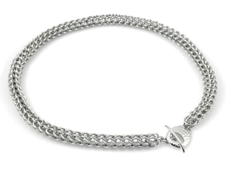 Persian Chain Mail Necklace
