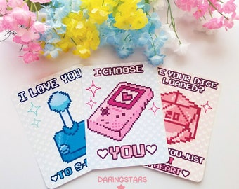 Nerd Valentine's Day Cards Mini Prints