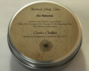 All Natural Handmade Body Salve
