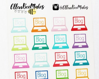Blog Laptop Stickers