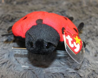 LUCKY the Ladybug--PVC--Fareham Hants, 1995/1993--Tag Errors