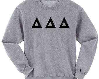 Delta Delta Delta - Athletic Grey Sweatshirt