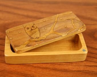 Owl Stash Box, 5