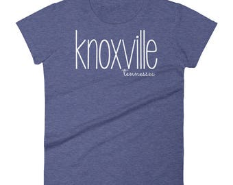 Knoxville Tennessee TN City State Women's short sleeve t-shirt Shirt Tee