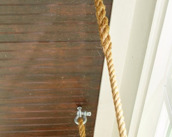 Woven Manilla Rope and Hardware