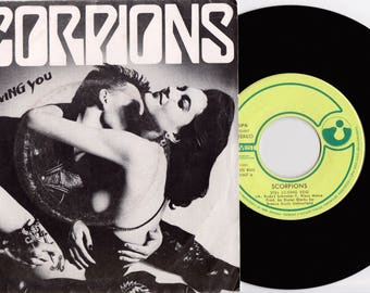 "SCORPIONS Still Loving You  1984 Portuguese Issue Rare 7"" 45 Vinyl Single Record Music Pop Rock 80s 2001867"