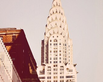 Chrysler  - New York City Art Print, New York Landscape Photography by Leigh Viner
