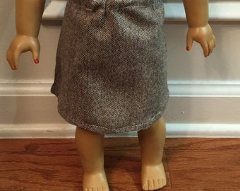 Business Casual American Girl Doll Skirt/Shirt Outfit