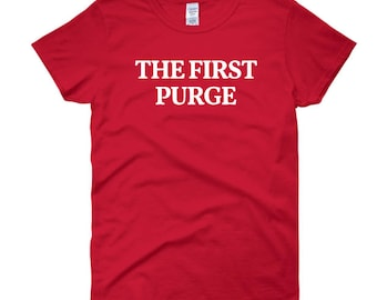 The First Purge Ladies T-Shirt