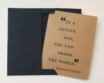 Gandhi Blank Card