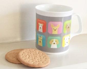 Dog Mug - Dog Lovers Gift - Free Gift Wrapping