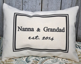 Personalized Grandma gift, mothers day, Pregnancy reveal, father's, Grandparents day, gift for mom