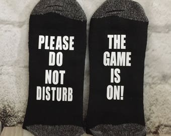 Game is On, Do Not Disturb, Fathers Day Gift, Grandpa Gift, Sports Dad gift, Gift for Dad