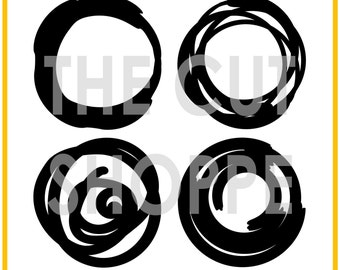 The Around & Around cut file includes four circle designs, that can be used for your scrapbooking and papercrafting projects.