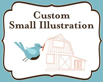 Add On - SMALL Custom Illustration Fee