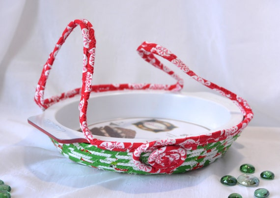 Pie Cookie Carrier, Handmade Holiday Basket, Cookie Dessert Caddy, Christmas Bread Basket, Decorative Holiday Basket, Decoration