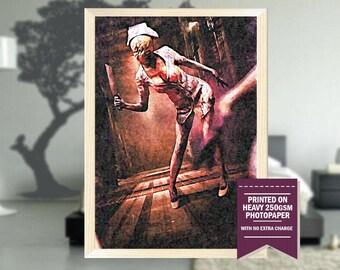 Silent Hill Revelation, fanart, silent hill poster, silent hill print, silent hill movie, silent hill art, best posters, cool art