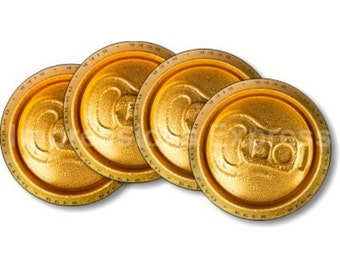 Beer Can Coasters - Set of 4