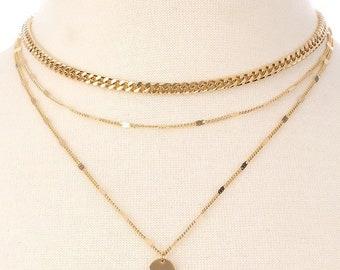 Basic choker necklace