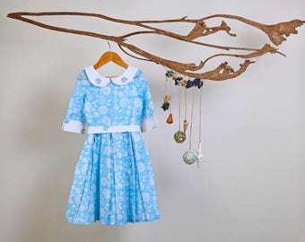 Circles in the Sand dress