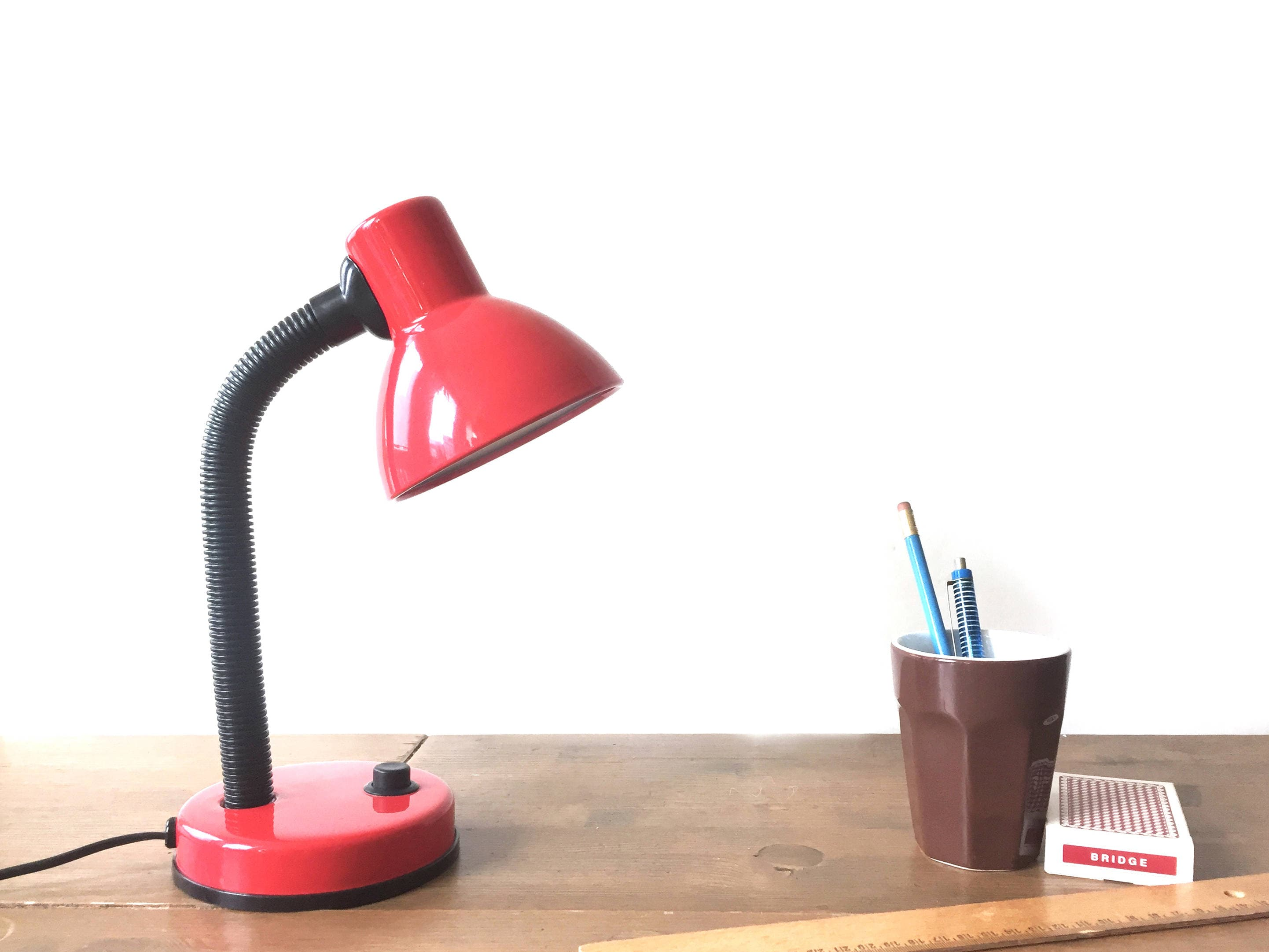 lamps gifts retro by home desk for etsy the black lamp retrotreasuresleeds on red pin