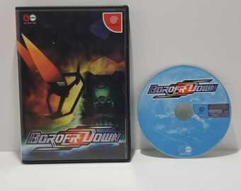 Border Down Sega Dreamcast JAPANESE IMPORT Reproduction Backup