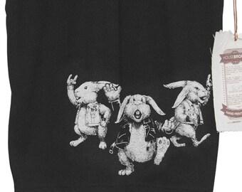 Rabbit Shirt. Rock and Roll Rabbits. Punk Rock Men's T-Shirt