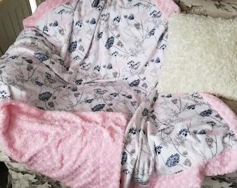 Adult minky cuddler
