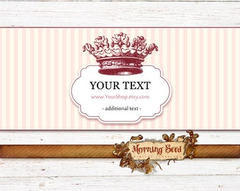 Soap packaging, Easy to edit Soap labels 2.5 x 11 inch, Printable soap labels, Royal label template