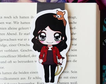 "Magnet Bookmark ""May""-inspired by Chaoskuss by Teresa Sporrer"