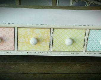 beach shabby chic furniture. 1960\u0027s VINTAGE FRENCH Armore Provencial Drawers Shabby Chic Bedroom Jewellery Furniture Beach House Country Recycled Timber