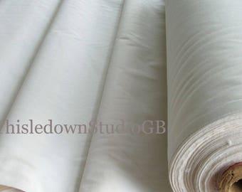 "Quality Natural Cotton Calico, 29""/73.5cm wide"
