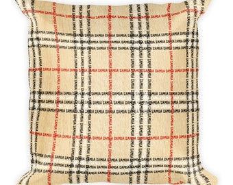 Samoa plaid Square Pillow