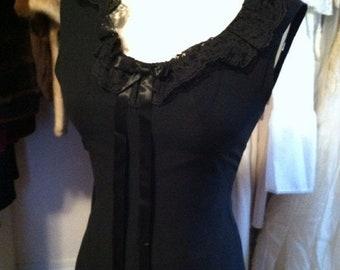 35% Off Sale 1960 little black dress x small