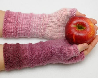Winter Gloves Half finger gloves Fingerless Mittens Rose Arm Warmers knit gloves Womens gift ideas Girlfriend Gift wanderlust Hand Warmers