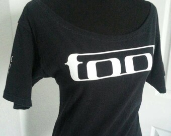 Tool ladies boatneck scoop neck fitted band shirt   XS S M L XL 2XL
