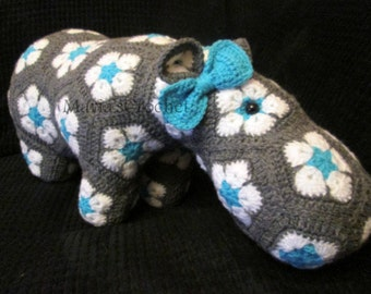 Crochet Hippo - Crochet Animals